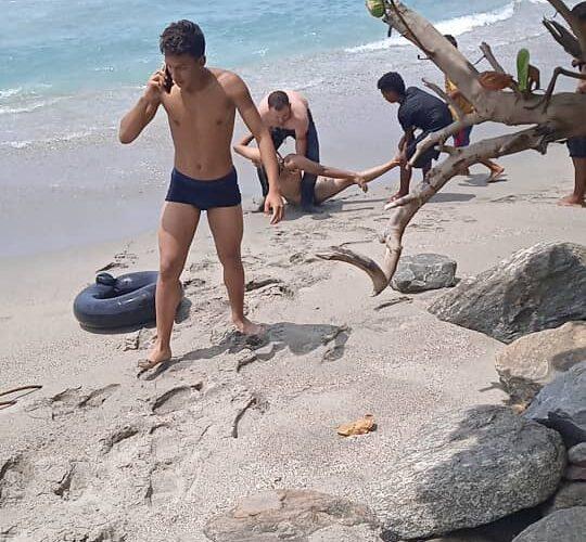 Caraqueño se ahogó en Tanaguarena