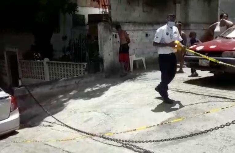 Cicpc le dio 3 tiros a un vecino en La Veguita