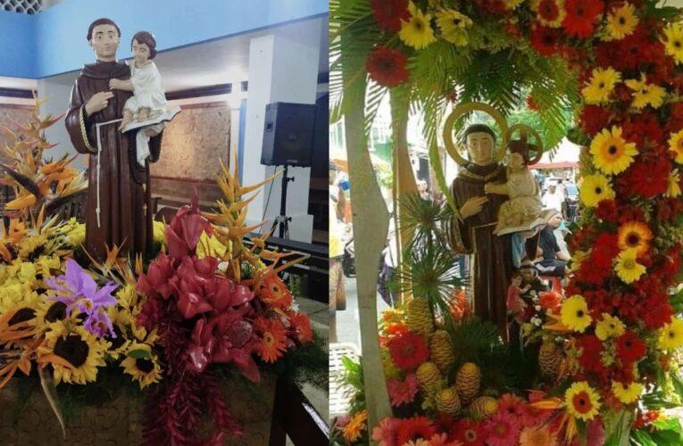 Veneran con tambores a San Antonio de Padua en Naiguatá