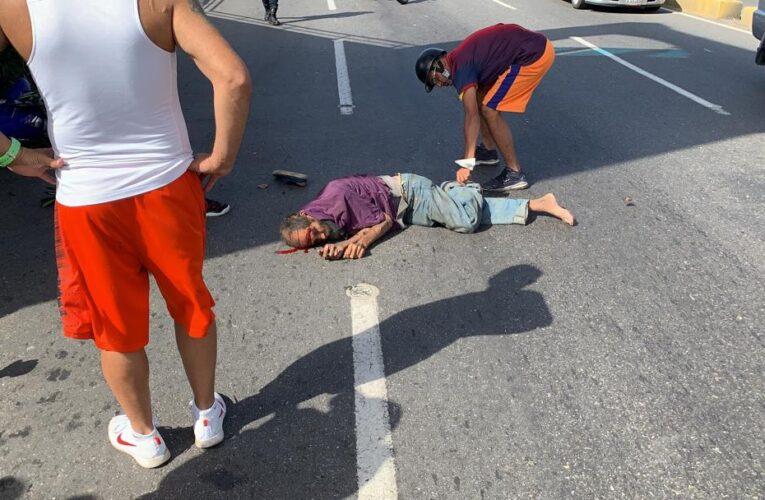 Dos heridos deja arrollamiento en Guanape II
