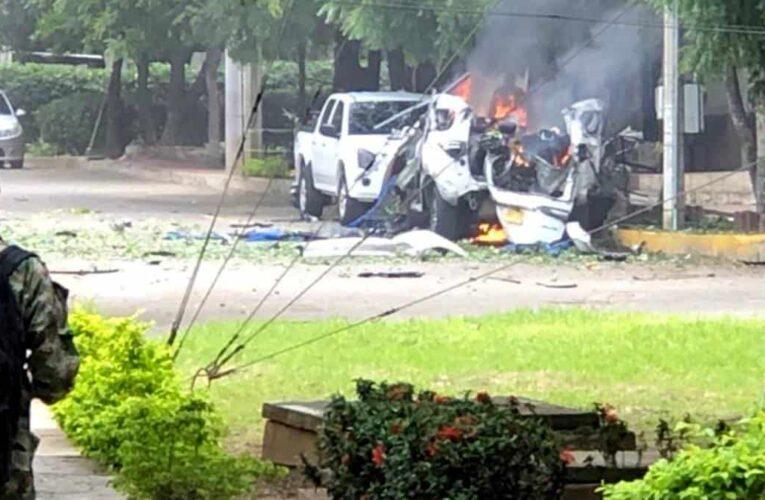 Explota carro bomba dentro de base militar en Cúcuta