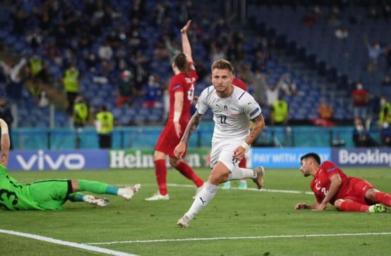 Italia venció a Turquía en la apertura de la Eurocopa