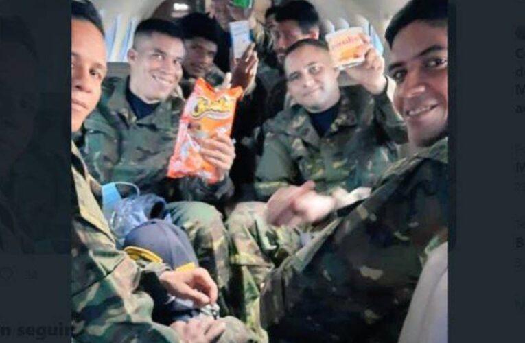 Rescatan a 8 militares secuestrados y buscan a 2 desaparecidos