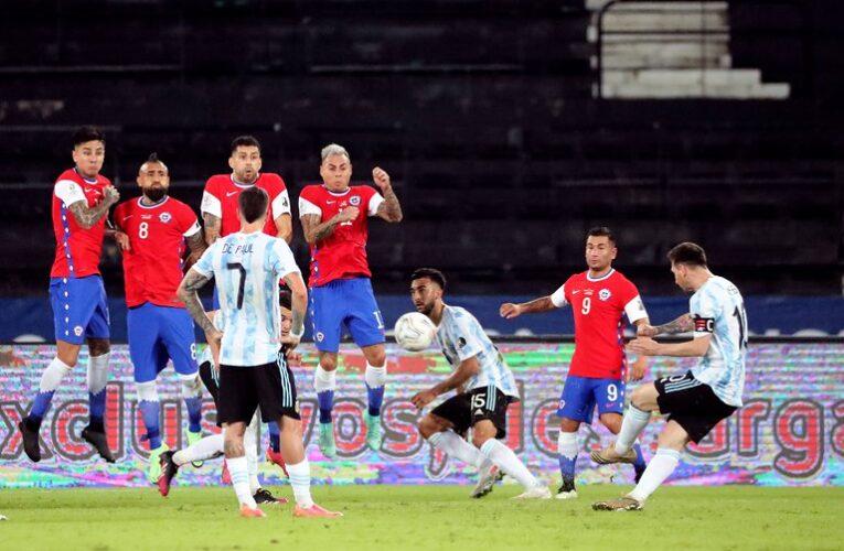 Argentina y Chile debutaron con un empate