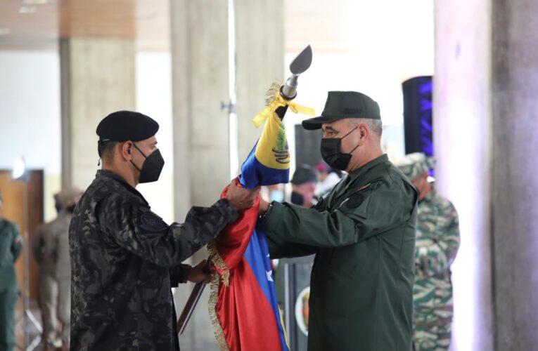 FANB abanderó la delegación venezolana que competirá en los Army Games 2021