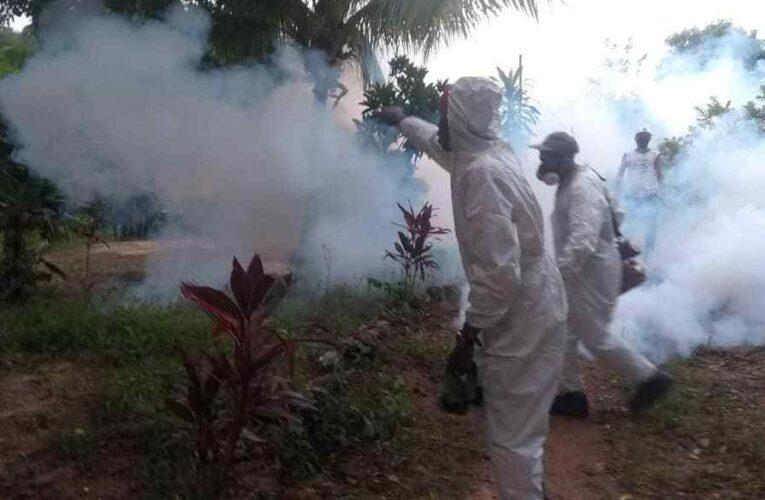 4 casos sospechosos de malaria muy cerca de Chuspa