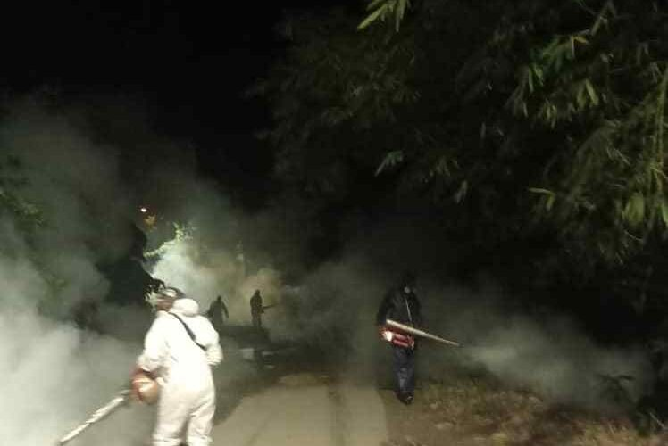 Más de 1.500 personas beneficiadas con jornada de fumigación en Chuspa