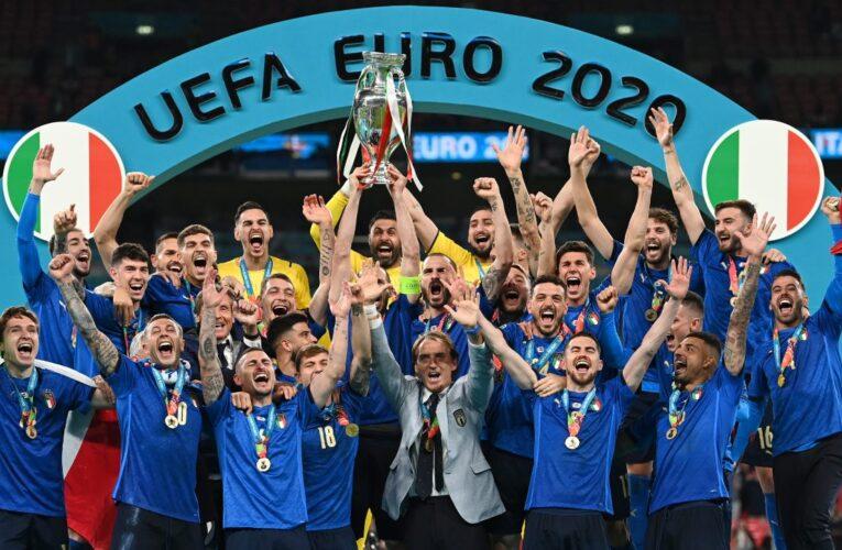 Italia gana la Eurocopa al vencer a Inglaterra en los penaltis