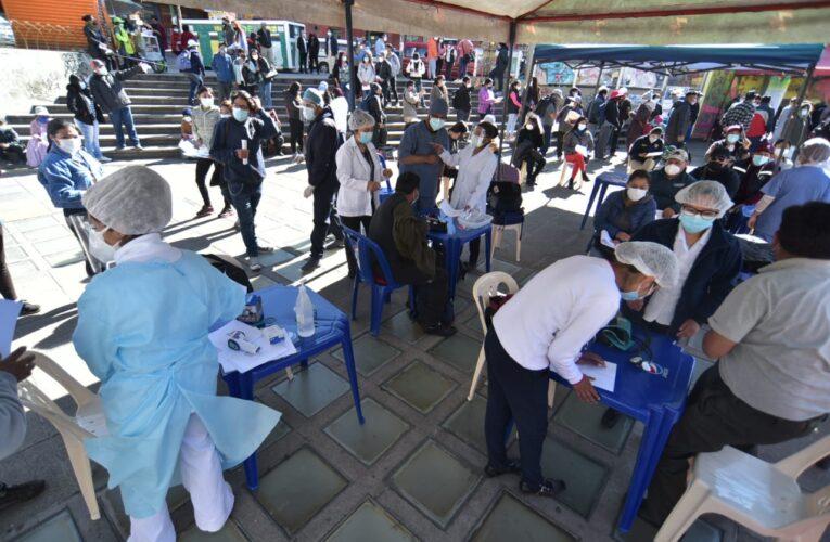 Bolivia inicia jornada de megavacunación