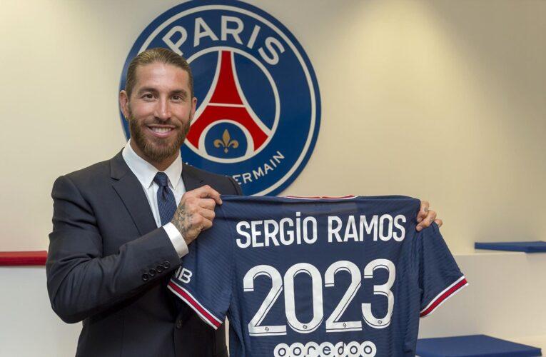 Ramos firma por dos años con el PSG