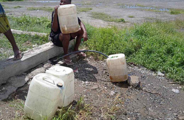 Están sedientos en la parte alta de La Guaira