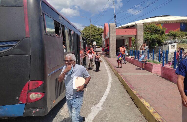 Transportistas exigen vacunas