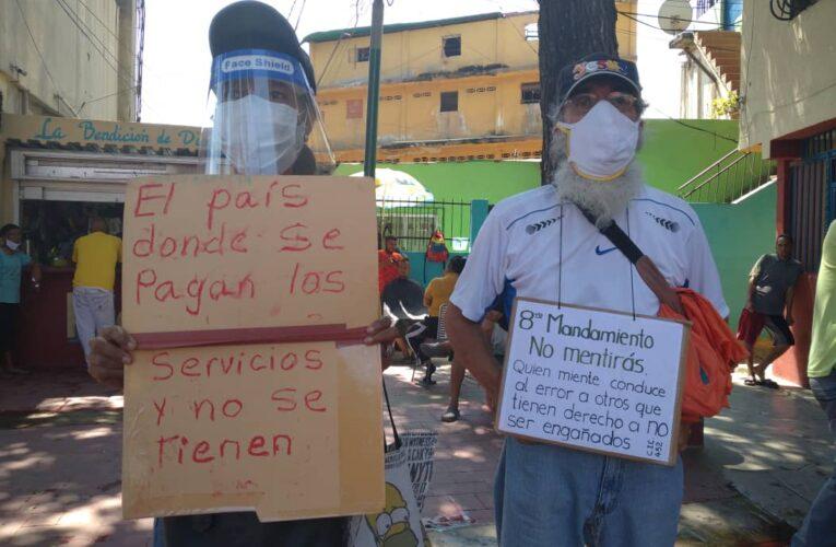 Frente Amplio exige agua para La Guaira