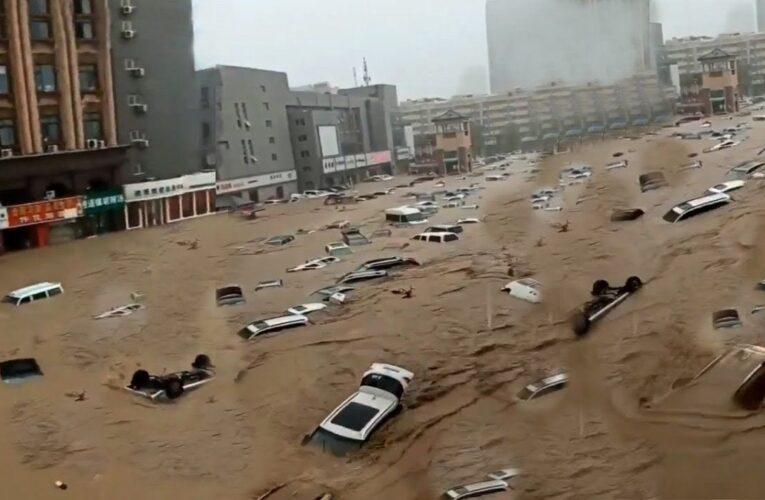 Ascienden a 51 los fallecidos por inundaciones en China
