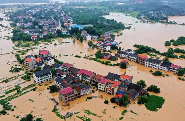 Evacuaron a 376 mil personas por inundaciones en China