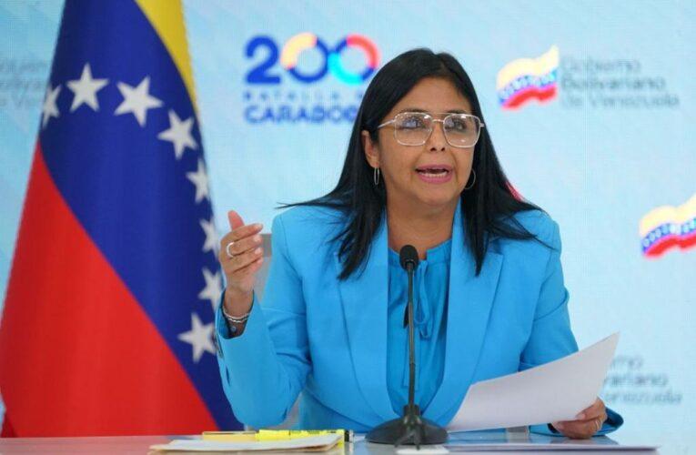 Delcy Rodríguez vincula al Koki con Voluntad Popular