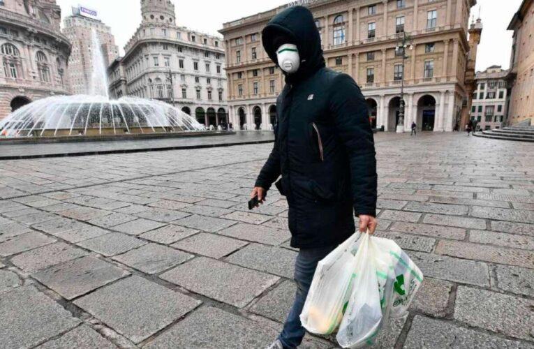 Se detuvo la caída de contagios y muertes en Italia