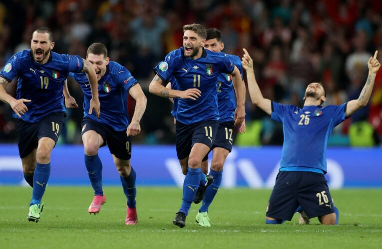 Italia tumba a España y se mete en la final