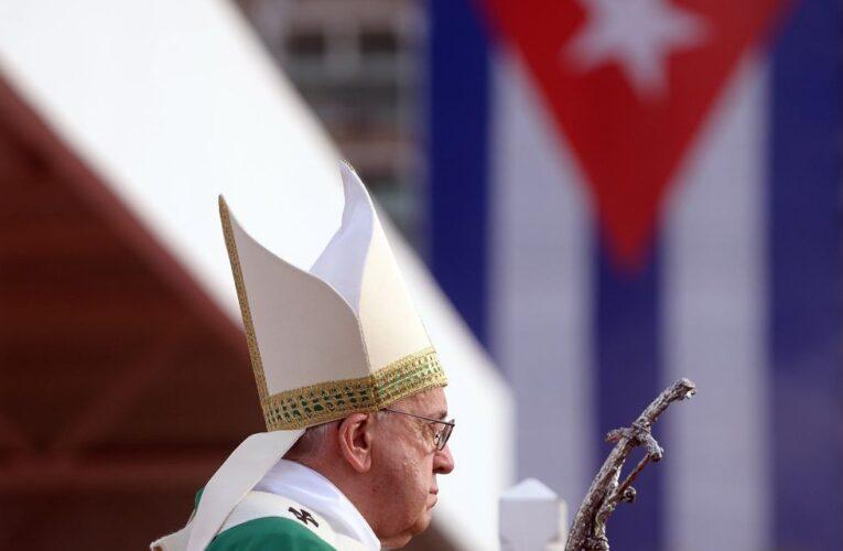 Papa Francisco: Estoy cerca del querido pueblo cubano en estos momentos difíciles