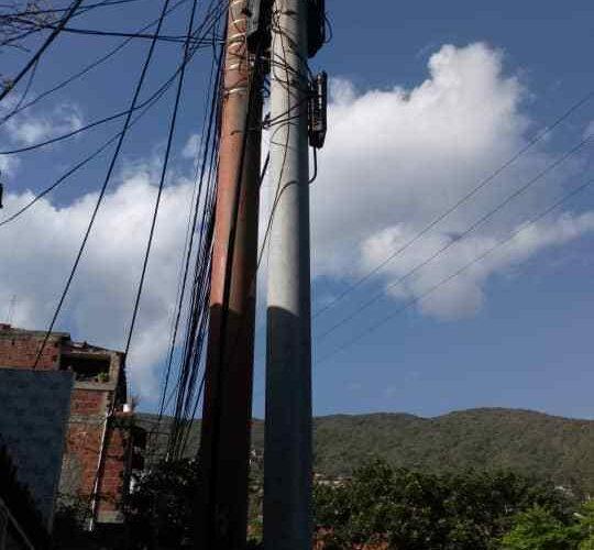Aprovecharon el apagón del sábado en Pariata y robaron cables de Cantv