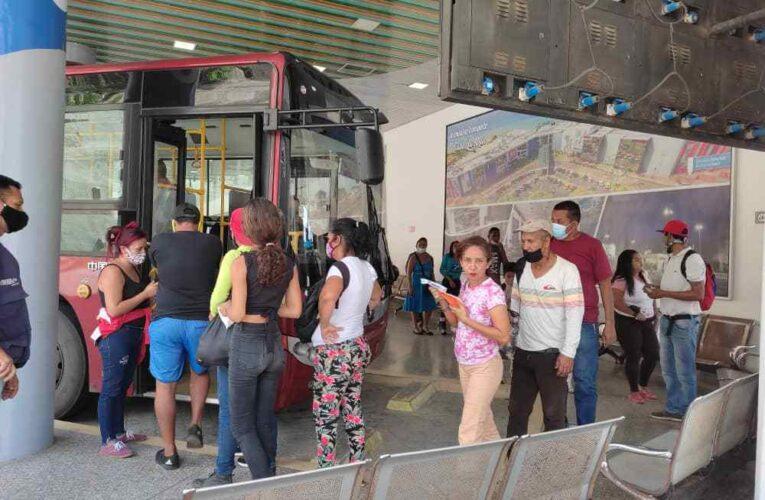 Buses Sitssa mantienen tarifa de Bs. 130 mil a Caracas
