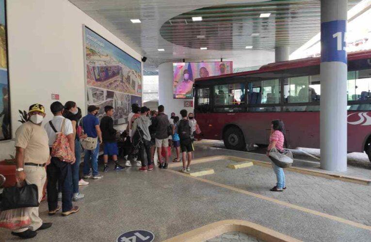 Sitssa incorpora 17 buses para playeros los fines de semana