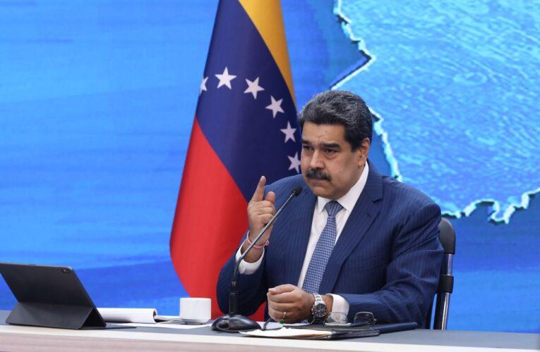 Maduro espera que 70% de la población esté vacunada en septiembre
