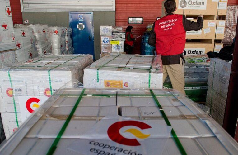 España envió 30 toneladas de ayuda humanitaria a Haití