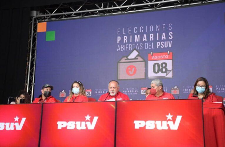 PSUV anunció primeros resultados de las primarias
