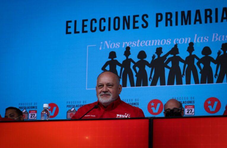 Candidatos del Psuv en Bolívar Monagas y Trujillo no participaron en primarias