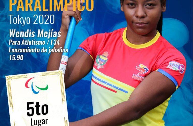 Mejías aporta sexto diploma paralímpico para Venezuela
