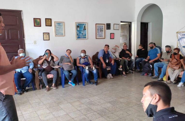 Frente Amplio recibe propuestas de precandidatos a la Alcaldía