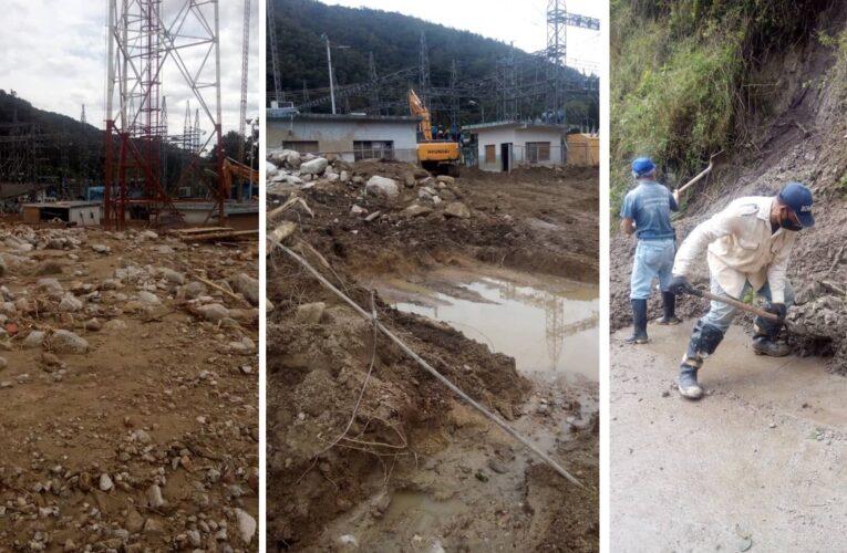 Continúan las labores de limpieza en Tovar
