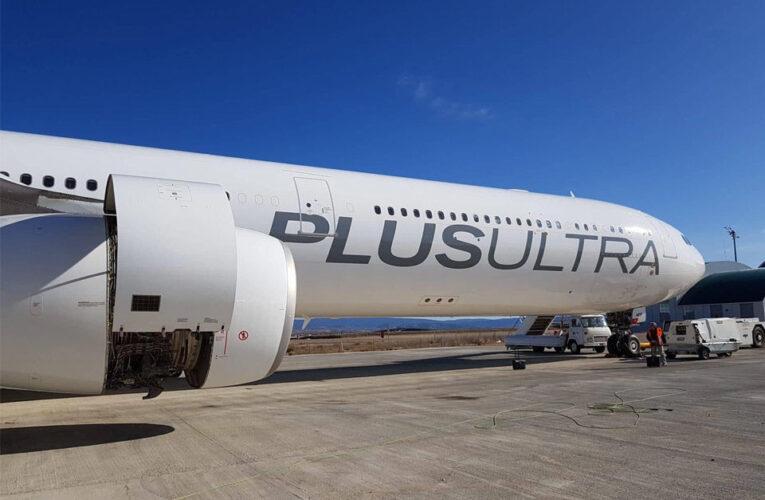 Plus Ultra suspendió vuelos comerciales a Maiquetía