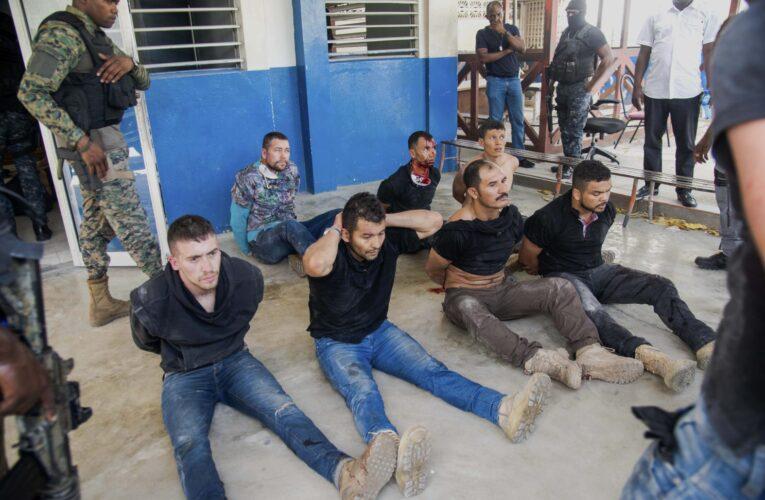 Mercenarios colombianos admiten magnicidio en Haití