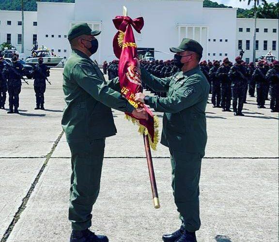 El G/B Richard Rondón Liendo nuevo jefe de la GNB La Guaira