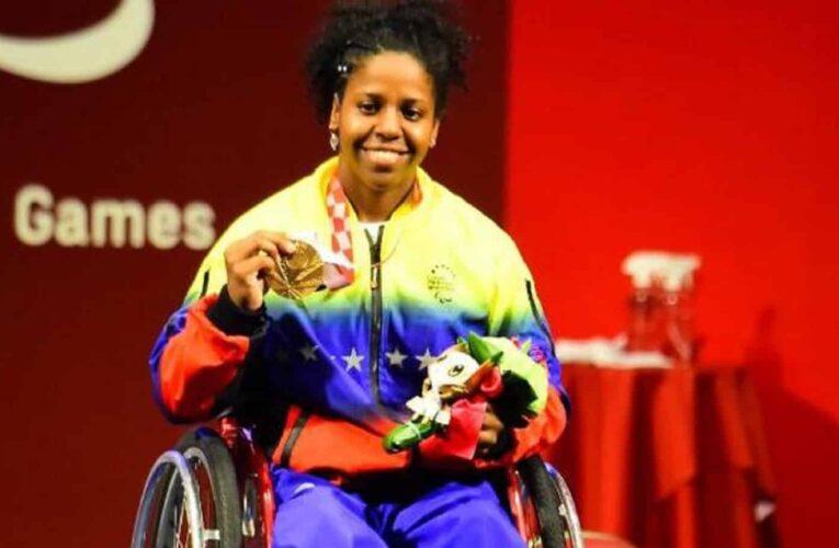 Clara Fuentes gana primera medalla para Venezuela en los Paralímpicos de Tokio