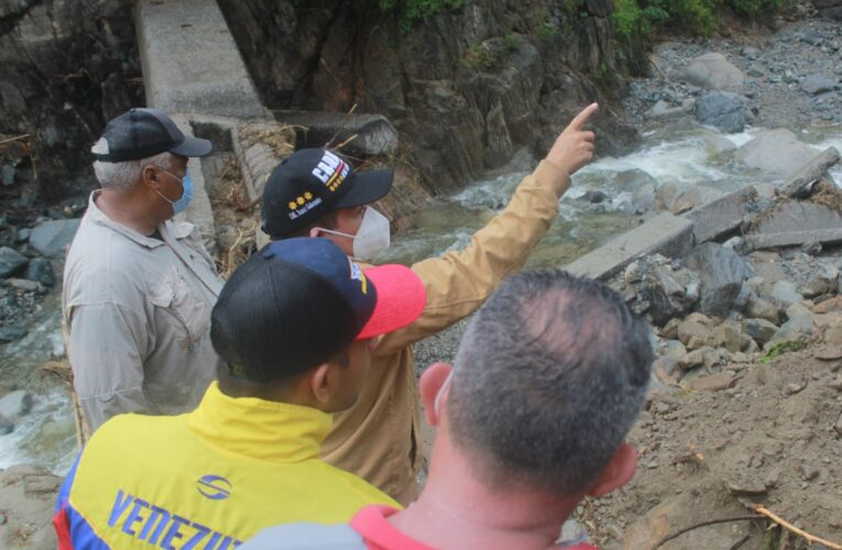Avanza reparación del dique de Naiguatá