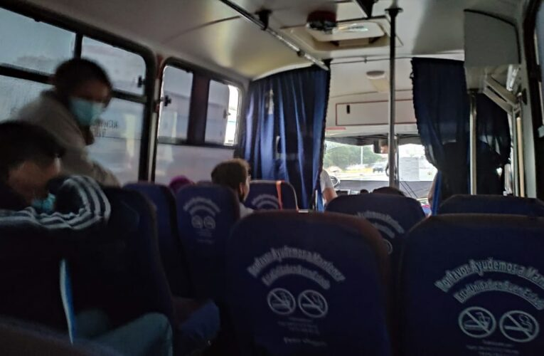 """""""Con 8 pasajeros retorno desde Valencia no es rentable"""""""