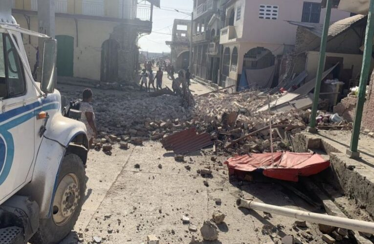 Terremoto de 7.2 sacudió Haití