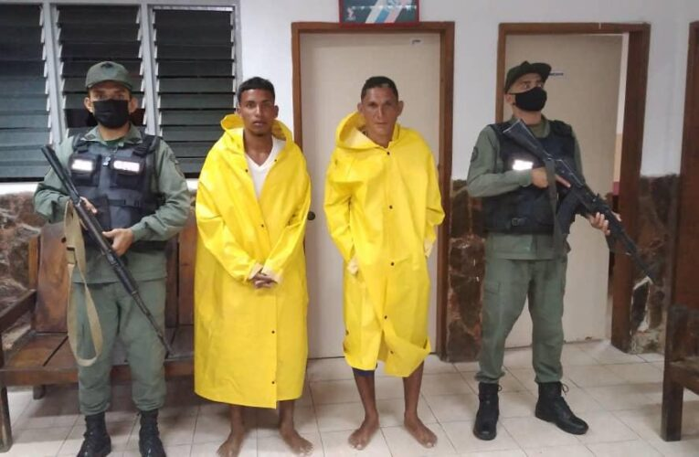 Pescadores de Aragua fueron rescatados cerca de Chichiriviche