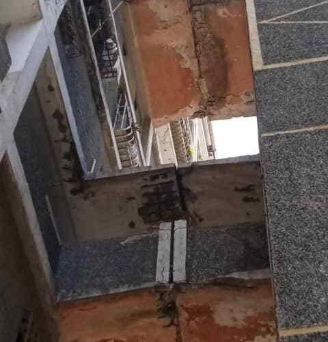 Los bloques de la Páez y Guaracarumbo están cada vez más deteriorados