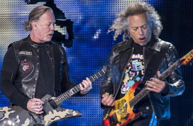 Metallica relanza tema para ayudar a damnificados alemanes