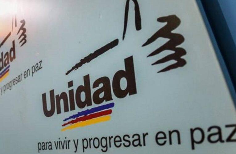 MUD anuncia que participará en las elecciones del 21N
