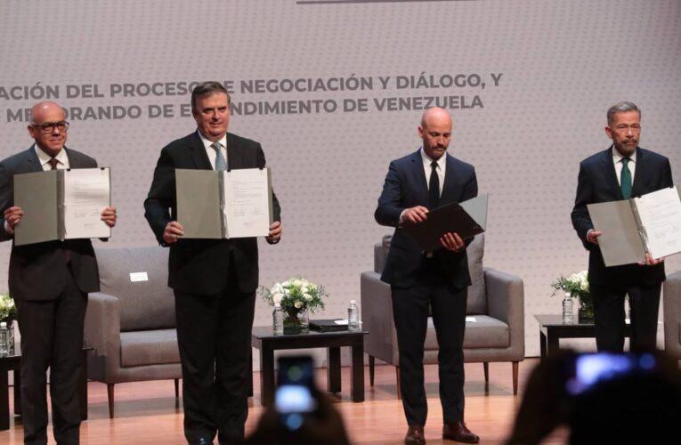 Avanza el diálogo entre Gobierno y oposición en México