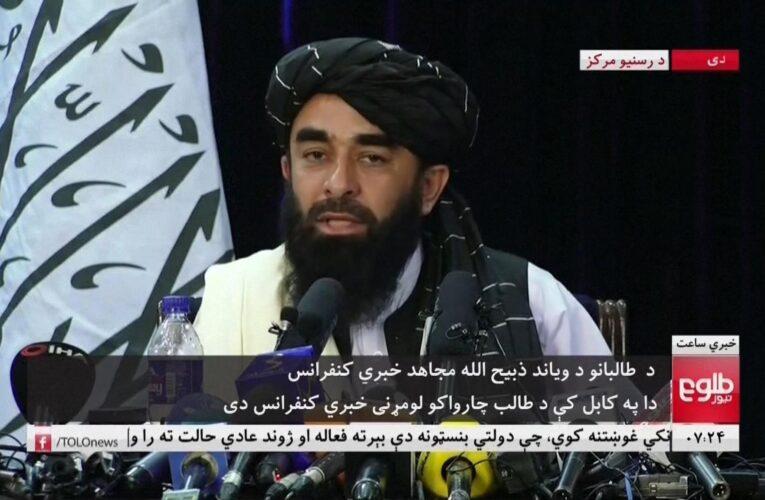 """Talibanes afirman que respetarán los derechos de las mujeres """"dentro de la ley islámica"""""""