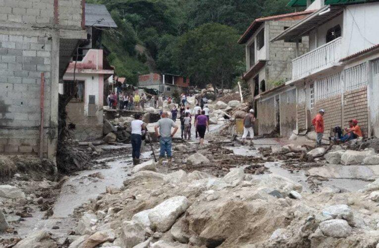 Mérida: Reabren paso hacia Tovar y la Iglesia activa planes para canalizar donaciones