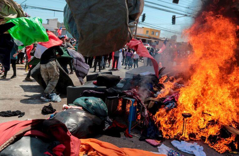 Temor entre venezolanos por marchas antiinmigrantes en Chile