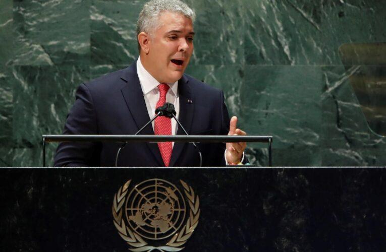 Duque en la ONU: No hay que ser ingenuos sobre el diálogo en México