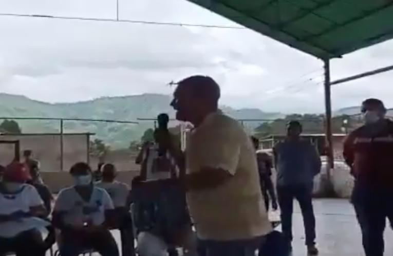 Murió de un infarto activista en acto del PSUV